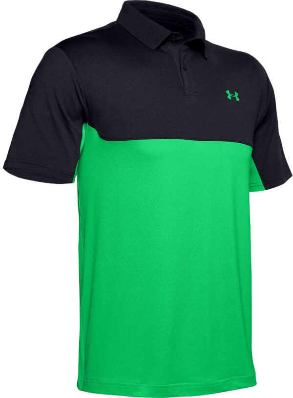 Herren UA Performance 2.0 Poloshirt in Blockfarben-Optik   Harrys Golfshop
