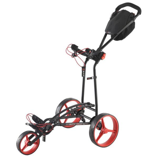 Der 3-Rad-Trolley, der sich am schnellsten und einfachsten zusammenfalten lässt