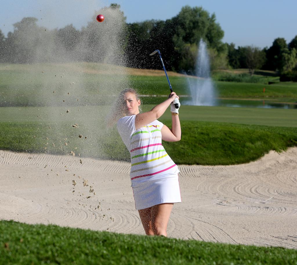 Girls Golf Mode Polo